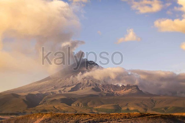 Cotopaxi Powerful Day Explosion