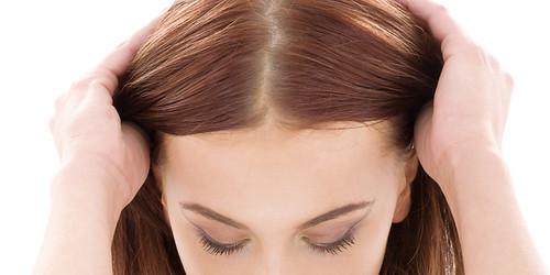 産後抜け毛対策に頭皮マッサージ