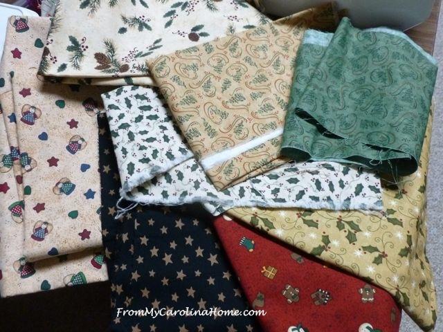Christmas Fabrics 1