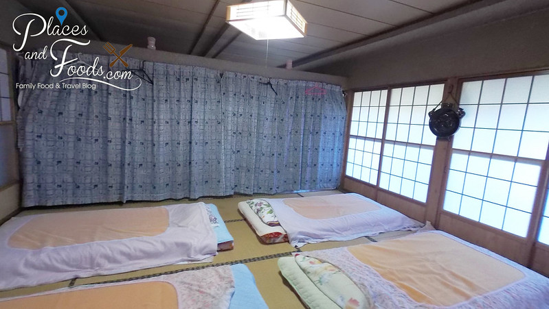 akita homestay traditional bed room