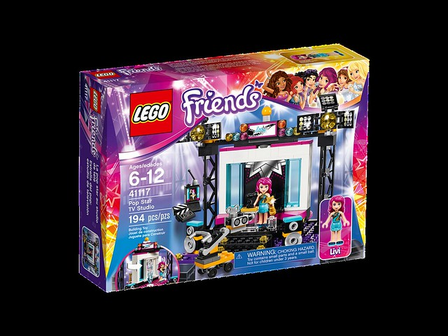 LEGO Friends 41117 - Pop Star TV Studio