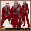 ALB YULE christmas outfit - onesie - scarf - hat ALB DREAM FASHION by AnaLee Balut