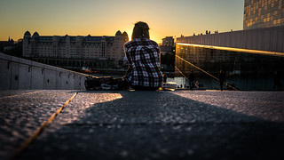 Friday evening - Oslo, Norway - Color street photography