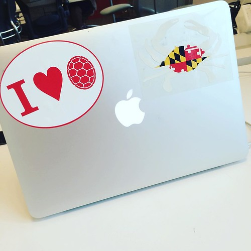 Just a little Maryland pride at the office.