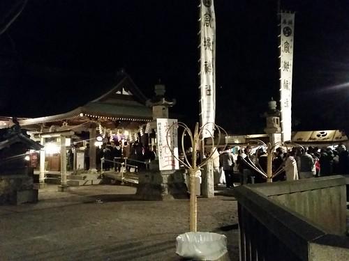 あけましておめでとうございますm(_ _)m 年明け早々の高城神社です。