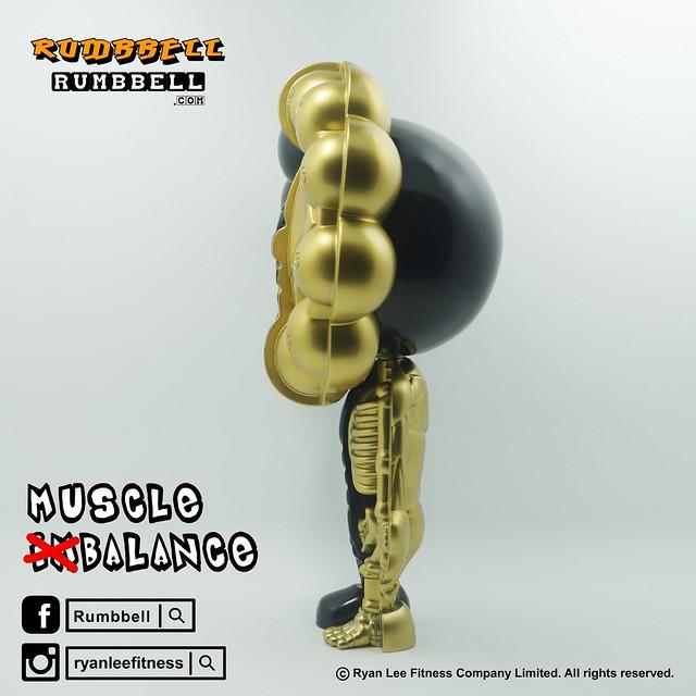 Rumbbell – D12 攤位【TOY SOUL 2015 限定品】Muscle (Im)Balance Figure