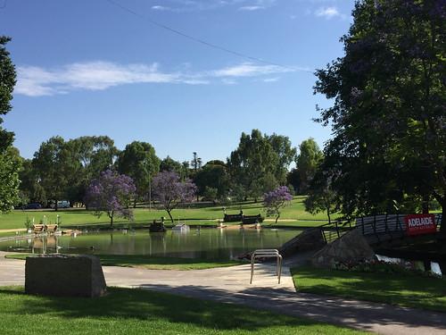 Reitparkour in den Parks um Adelaide