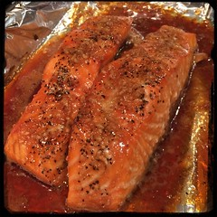 #Homemade #MapleGlazed #salmon #CucinaDelloZio