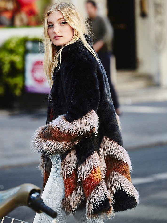 Faux Fur Coats Outfits style inspiration streetstyle3