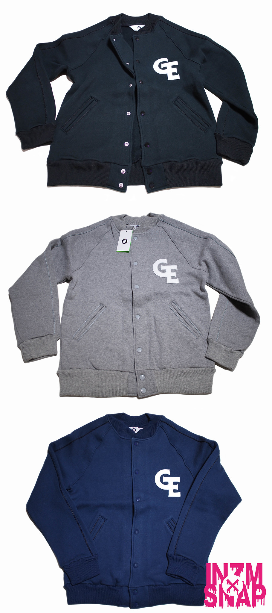 GOODENOUGH | Sweat Varsity Jacket