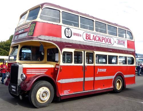 KNN 254 'Barton Transport' No. 580 Leyland Titan PD1 / Duple on 'Dennis Basford's railsroadsrunways.blogsot.co.uk'