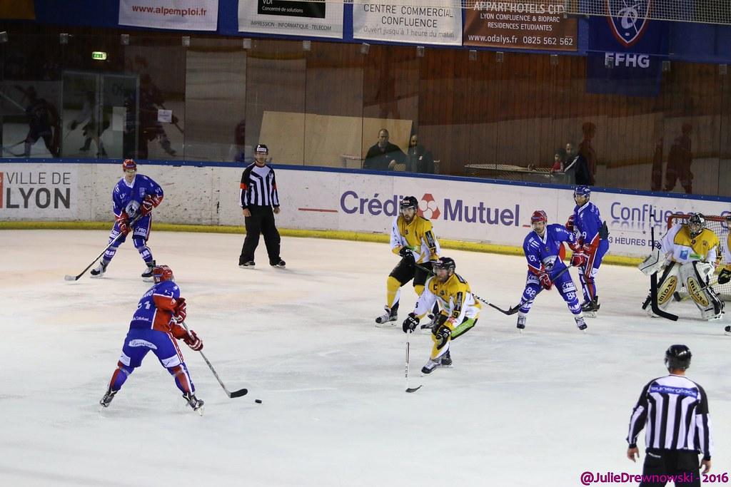 Ligue Magnus, 4e journée - Lyon 4-1 Strasbourg