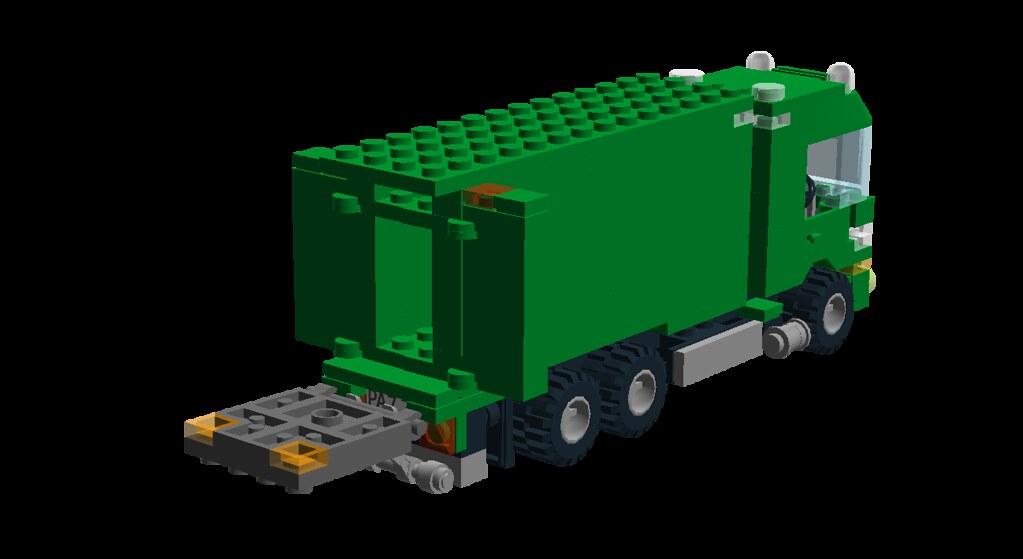 Irish Post Truck - 09 - Tail Lift