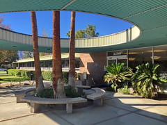 Palm Springs City Hall, Frey, Clark, Chambers and Williams, Associated Architects 1957