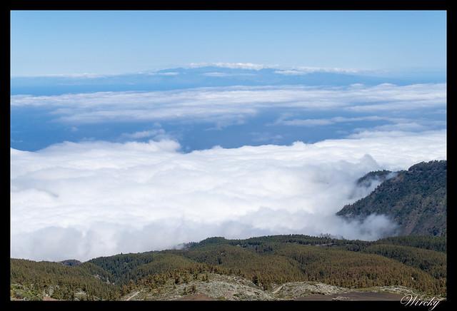 Tenerife Santiago del Teide acantilados los Gigantes Vilaflor - Mar de nubes