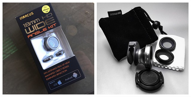 My Inmacus HD Wide-Angle Lens Kit