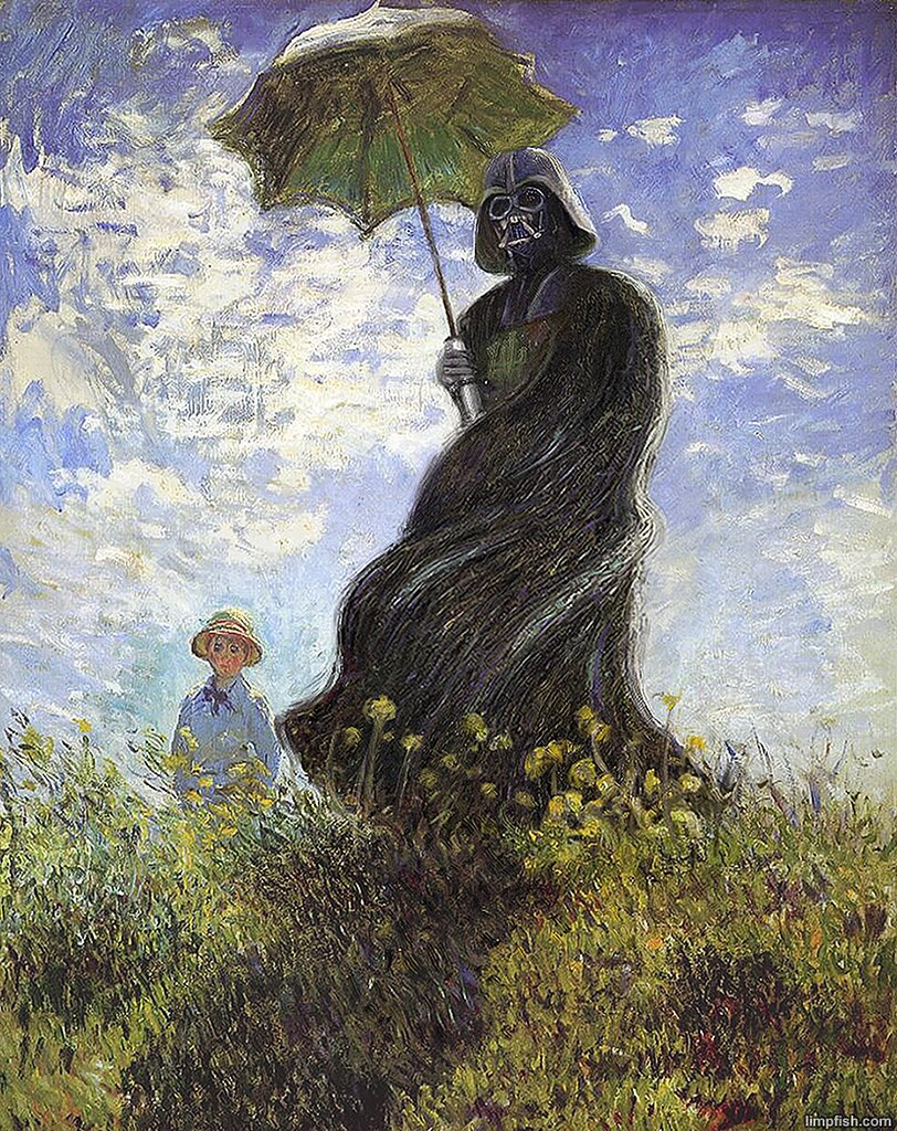 If-Monet-painted-Darth-Vader-and-other-art-clash-ups9__880