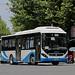 SUNWIN SWB6108EV46 electric citybus in trial run