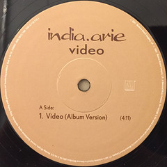 INDIA ARIE:VIDEO(LABEL SIDE-A)