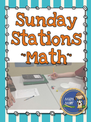 Sunday Stations Math & Yahtzee
