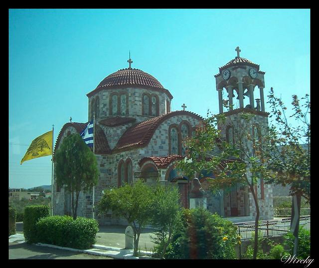 Grecia Atenas Corinto Epidauro Micenas Nauplia - Iglesia de Giannoulaikka
