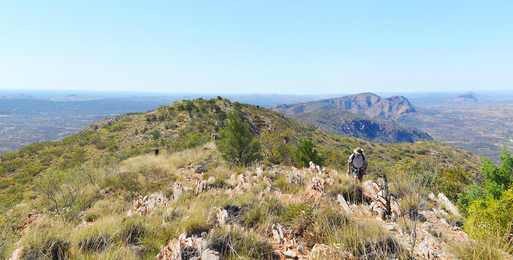 Ridgelines of the Chewings Range - Larapinta Trail