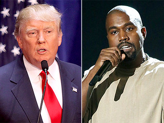 "Donald Trump Totally Supports Kanye West's Bid for President: ""I Hope to Run Against Him Someday"""