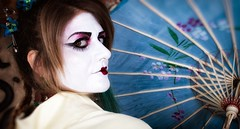 Sesión Fotográfica Geisha Punk II