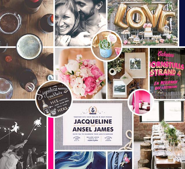 Kristy + Aaron 2016 Wedding Moodboard