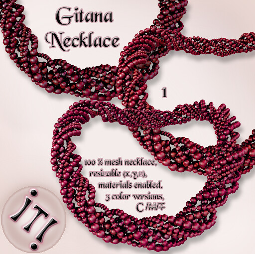 !IT! - Gitana Necklace 1 Image