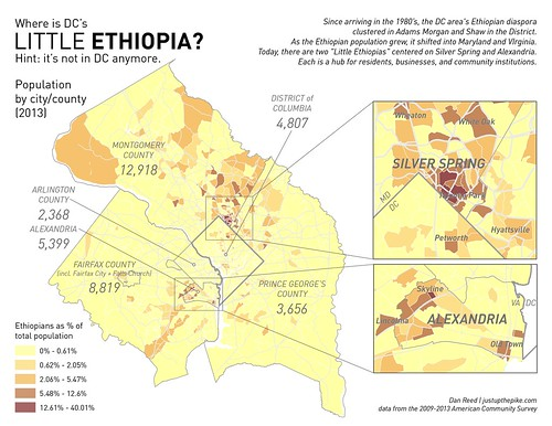 Where is DC's Little Ethiopia? Not in DC anymore.