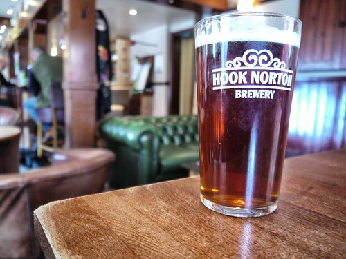 Hook Norton in Horse and Hound