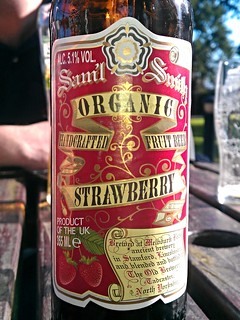 Samuel Smith's, Organic Strawberry Fruit Beer, England