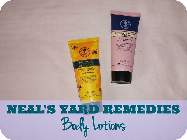 Neal's Yard Remedies Body Lotions Review