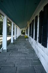 Sotterley Plantation, porch