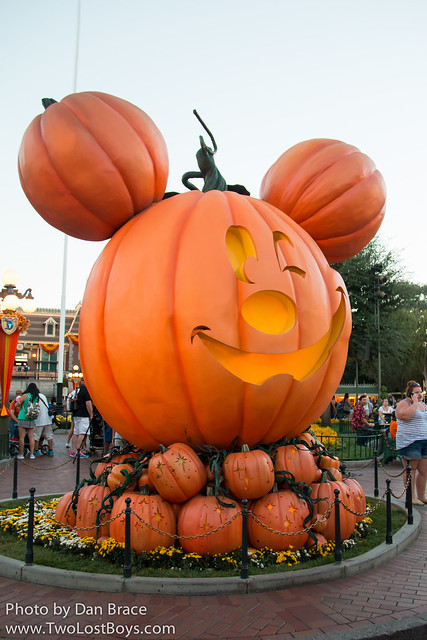 Halloween Time on Main Street USA