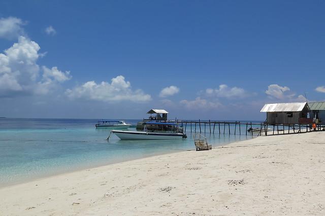 Celebes Beach Resort @ Pom Pom island, Malaysia