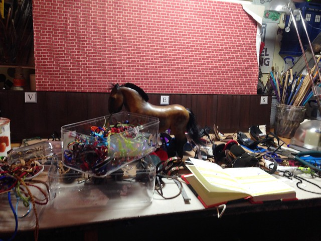 Sorting out all the EAE tack...