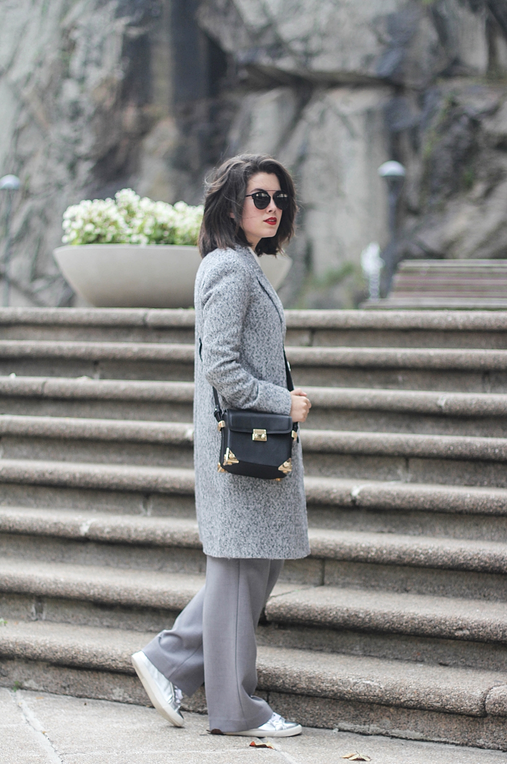 streetstyle shades of grey total look by la redoute myblueberrynightsblog