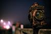Old Lantern in the Fog by btyreman