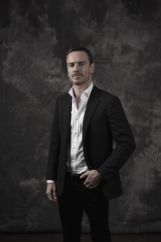 Майкл Фассбендер — Фотосессия для «Стив Джобс» на «BFI» 2015 – 7