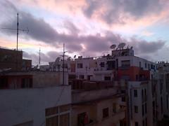 Sunset over satellites