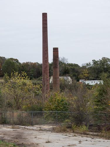 Startex Mill ruins - 1