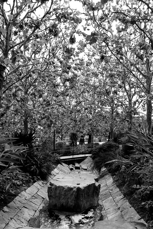 Getty Center Black & White