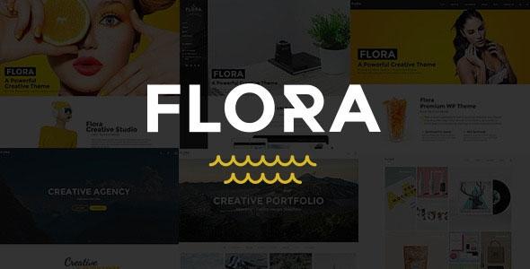 Flora v1.5 – Responsive Creative WordPress Theme