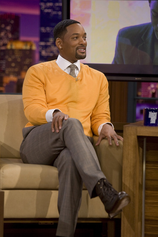 Will Smith crossed Legs
