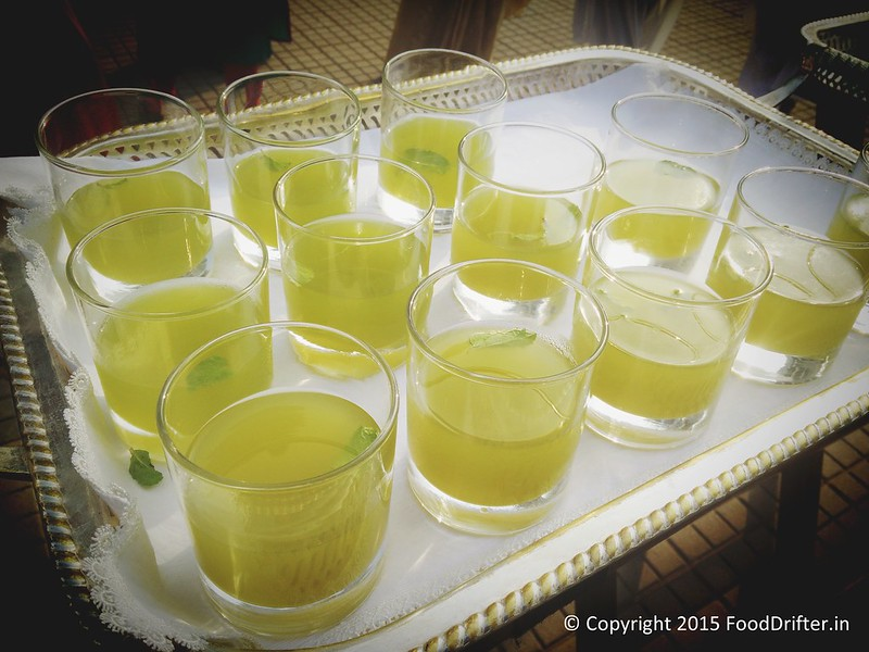 Welcome Drinks - Nimbu Sherbat