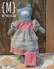 betsy cat and kitten sewing pattern
