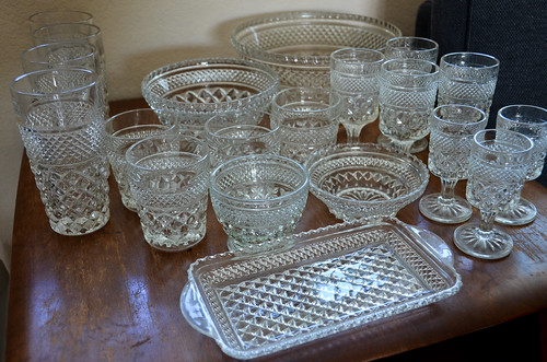 Anchor Hocking Wexford Glassware Collection