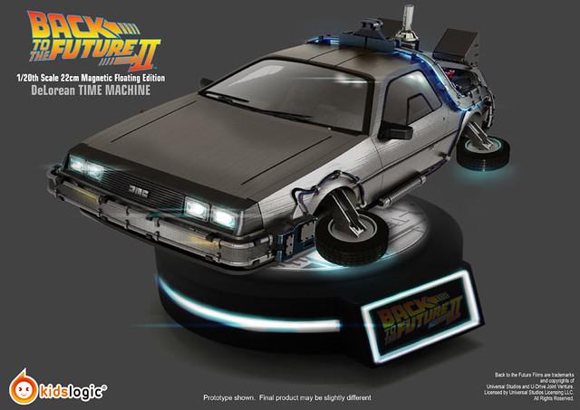 【新增官網照片&販售資訊】Kids Logic 《回到未來II》磁浮 時空穿梭車